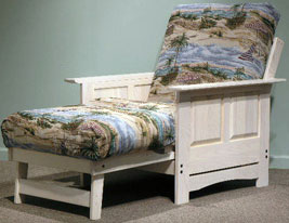 Manchester Futon Frame In Chair Lounger Size