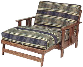 Es Futon Frame In Twin Loveseat Size